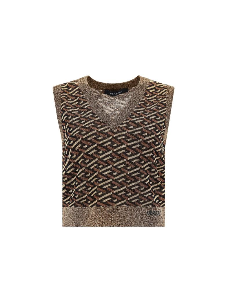 Versace Vest - Nero-oro