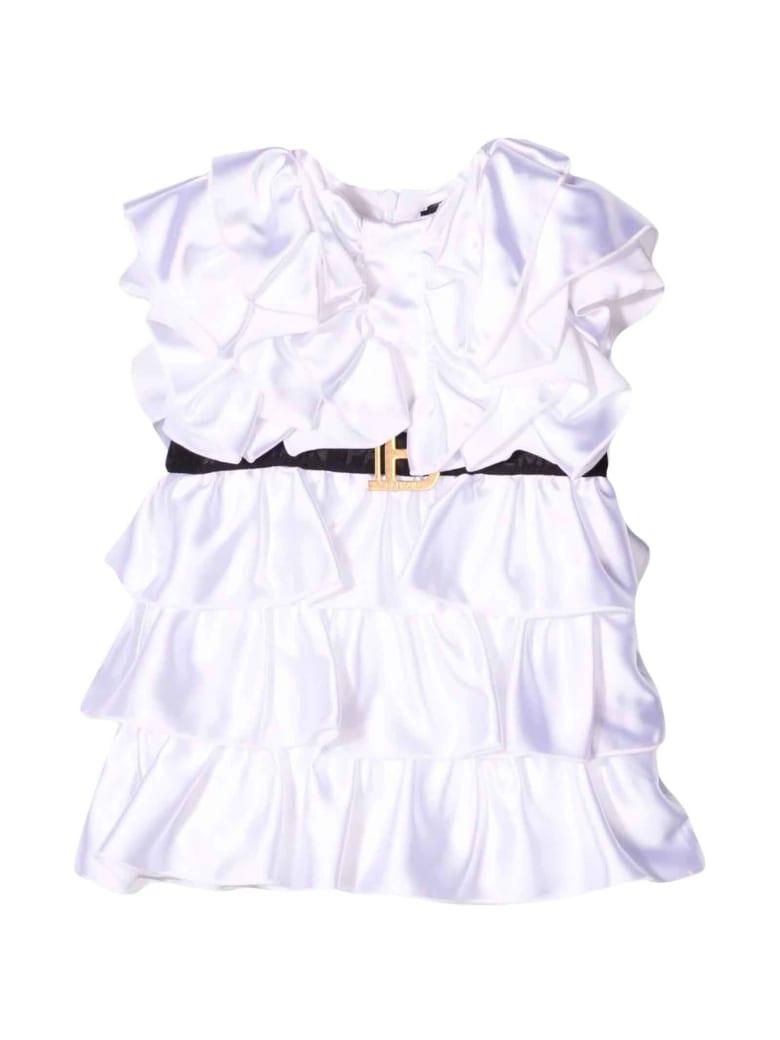 Balmain White Baby Girl Dress - Bianco