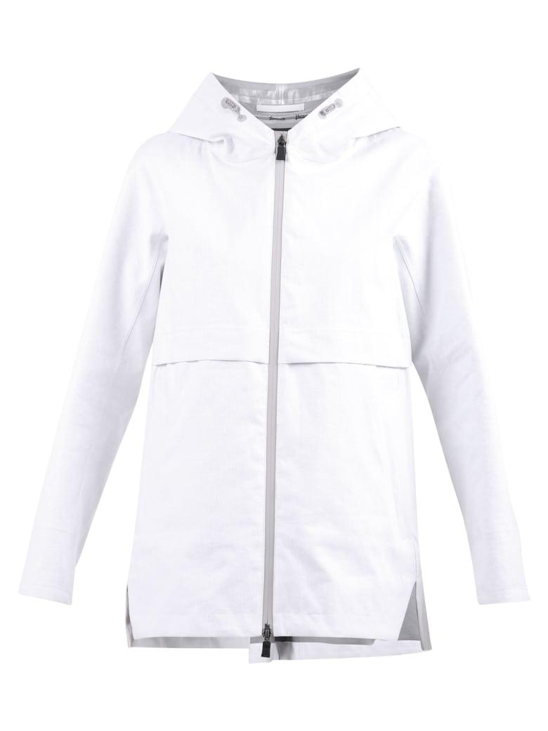 Herno Laminar Zipped Jacket - White