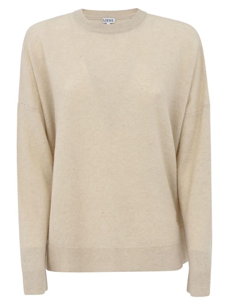 Loewe Oversized Sweater - Ecru