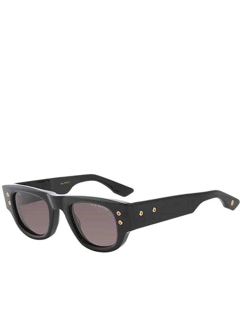 Dita DTS701/A/01 Sunglasses - Black/gold
