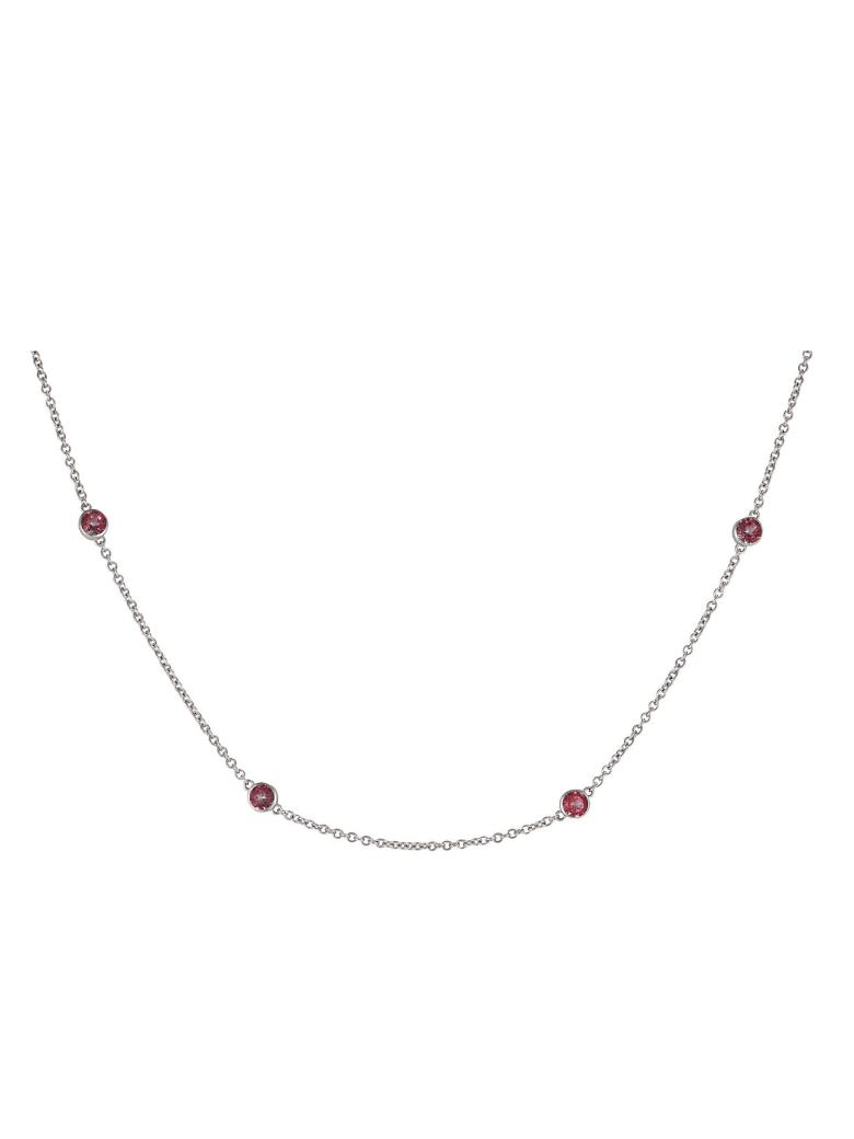 Lo Spazio Jewelry Lo Spazio Passion pink Topaz Necklace - Pink