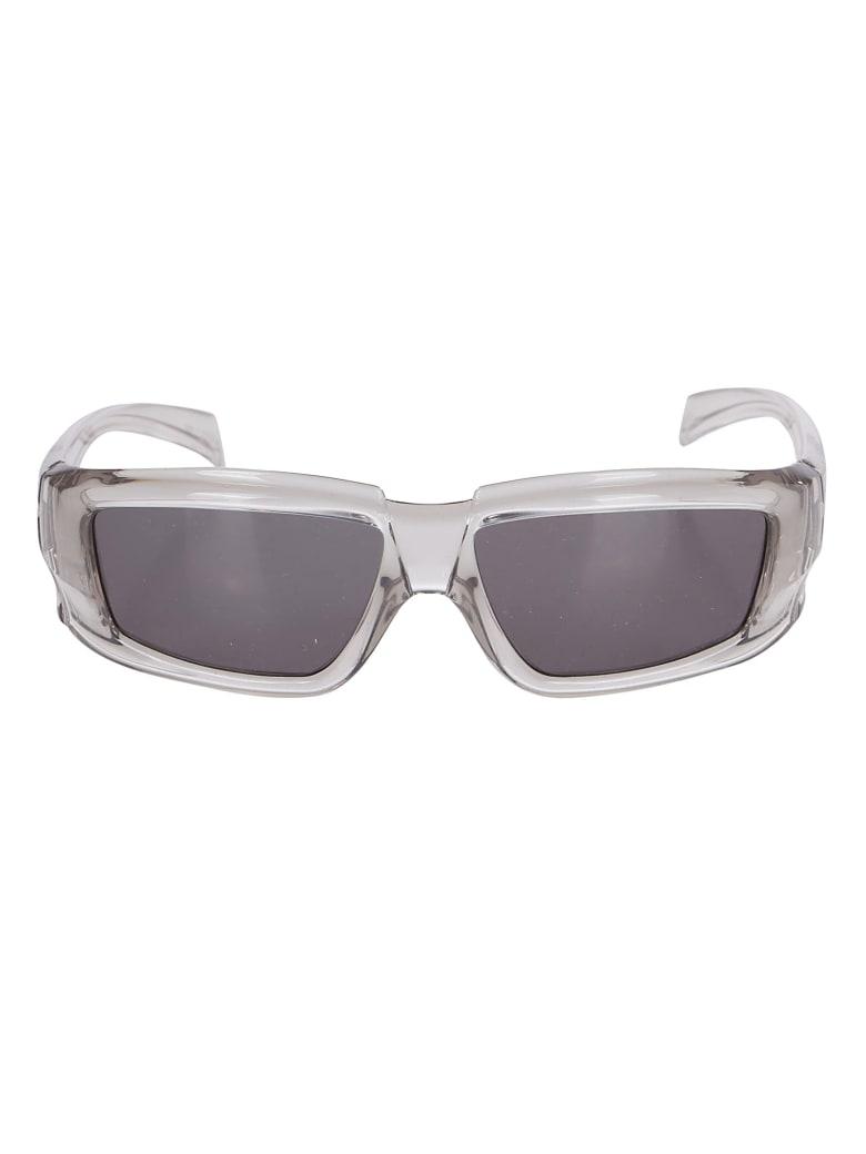 Rick Owens Clear Nylon Sunglasses - TRANSPARENT