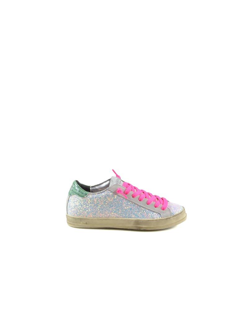 P448 Ologram Leather Women's Sneakers - Multicolor