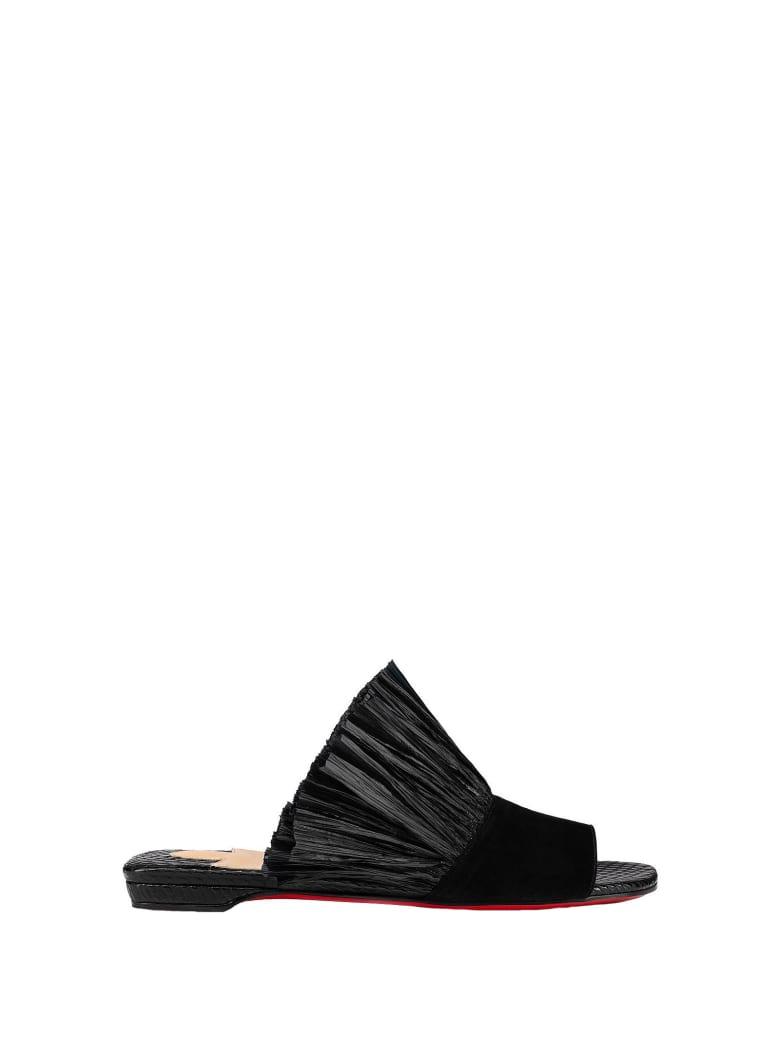 Christian Louboutin Black Sandals - BLACK