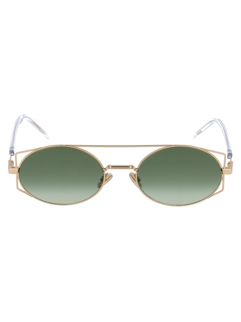 Dior Architectural Sunglasses - J5G8Z GOLD
