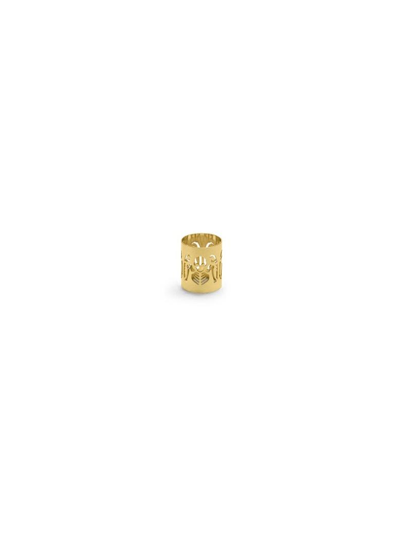 Ghidini 1961 Perished - Napkin Holder Polished Gold - Polished gold