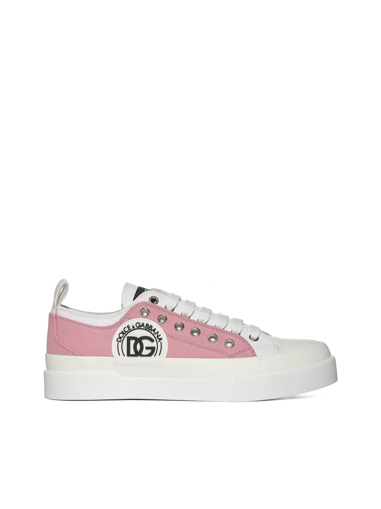 Dolce & Gabbana Sneakers - Bianco ciclamino