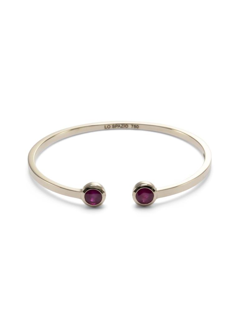 Lo Spazio Jewelry Lo Spazio Burmese Ruby Bangle - Red