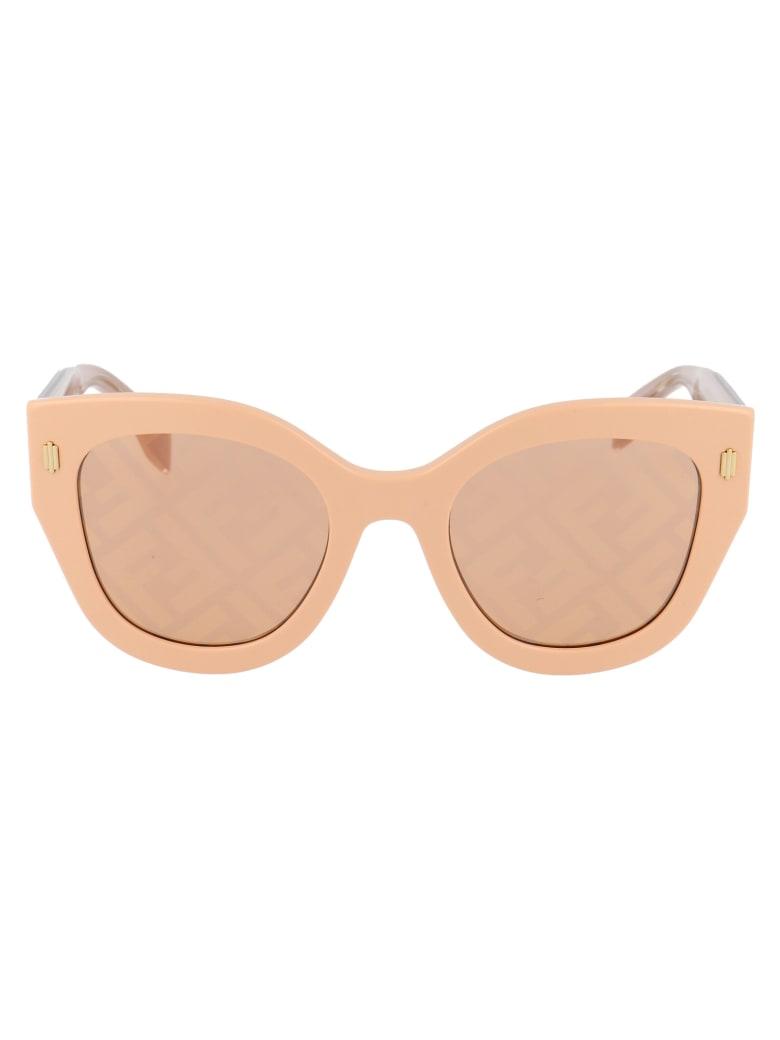 Fendi Ff 0435/s Sunglasses - 35JEB PINK