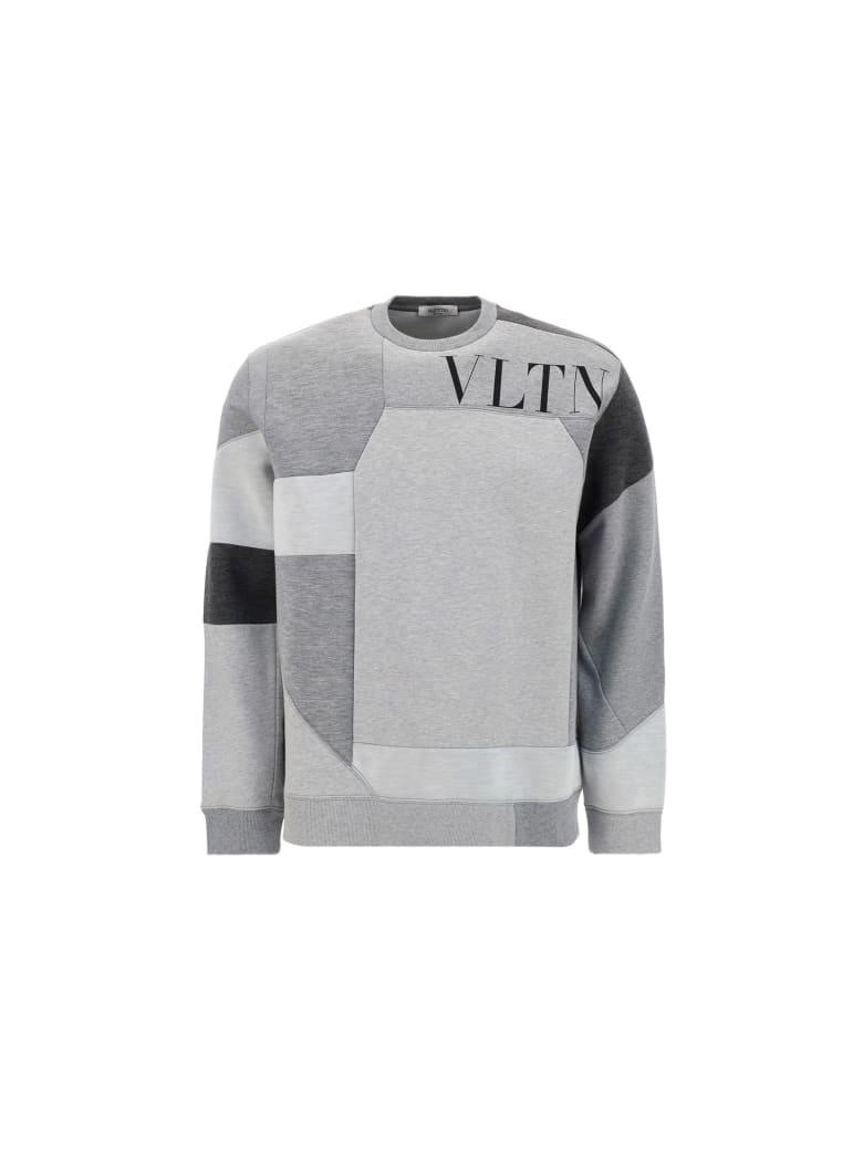 Valentino Sweatshirt - Grigio melange/nero