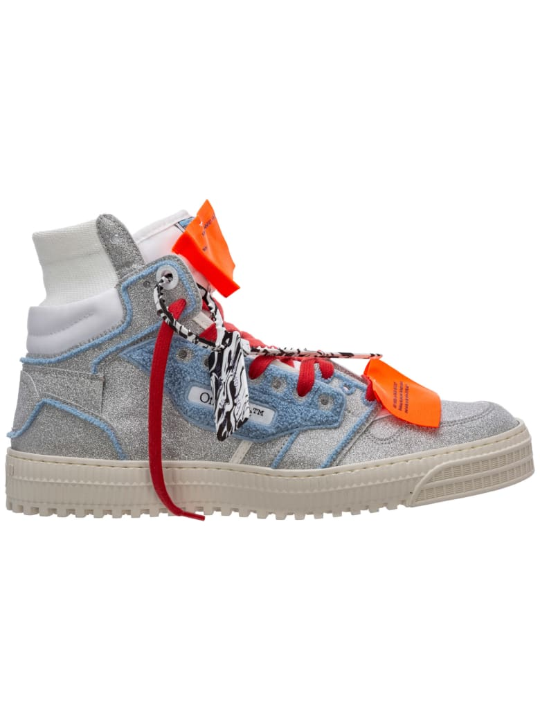 Off-White Icon High-top Sneakers - Argento
