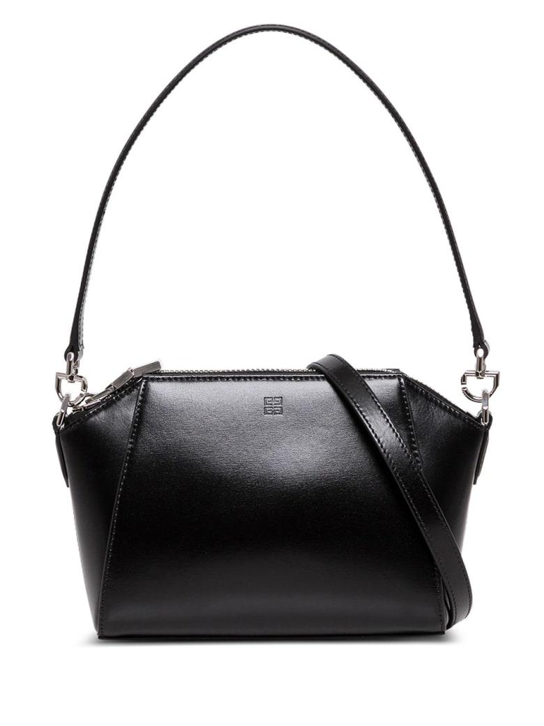Givenchy Antigona Crossbody Bag In Black Leather - Black