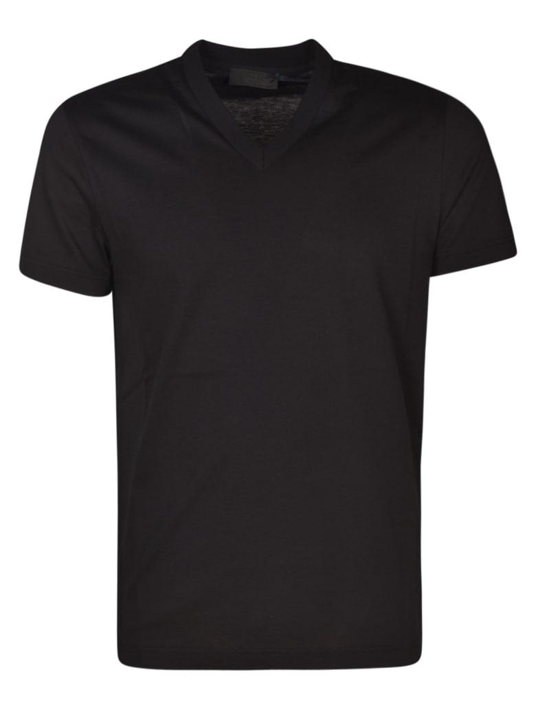 Prada V-neck T-shirt - Black