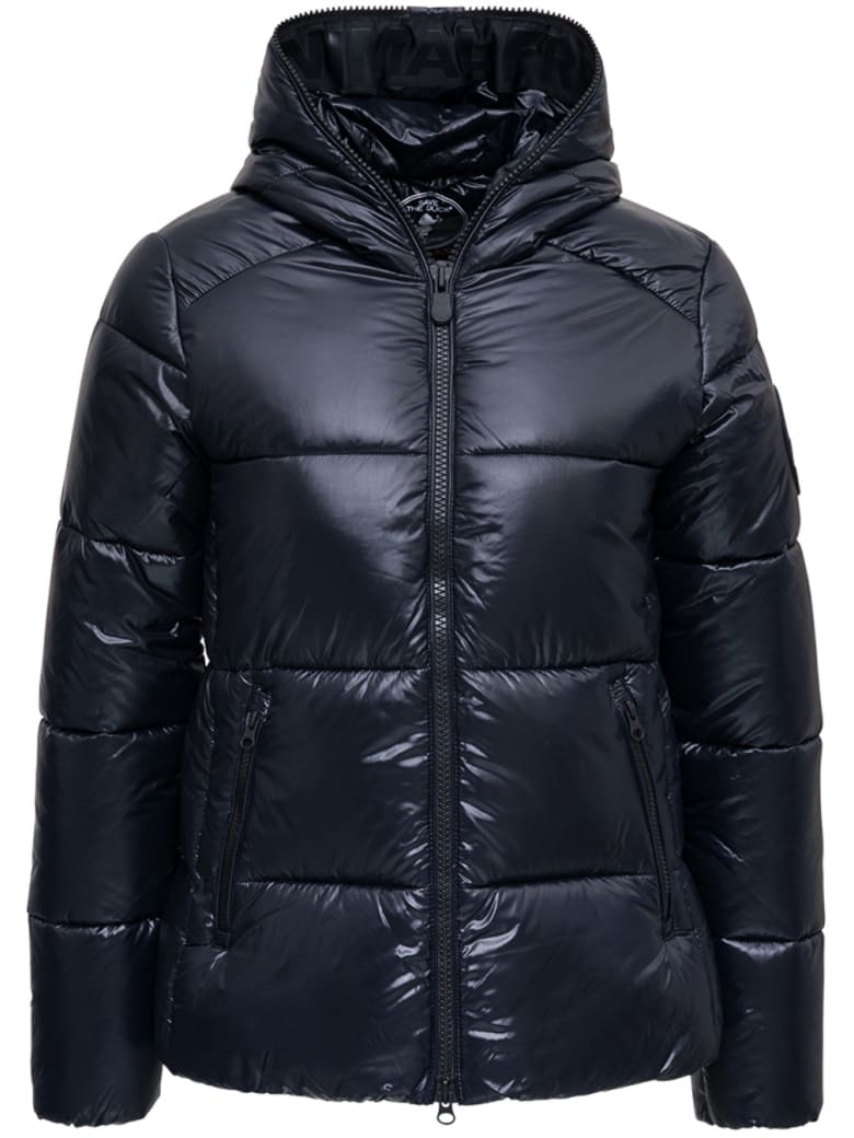 Save the Duck Blackshiny Nylon Down Jacket - Black