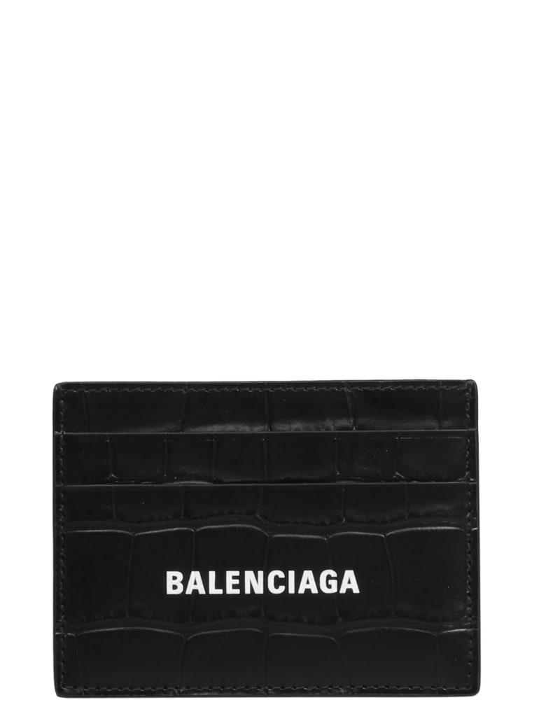 Balenciaga Cash Card Holder - Black