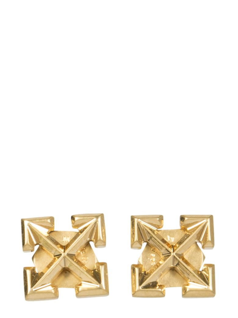 Off-White Mini Arrow Earrings - ORO
