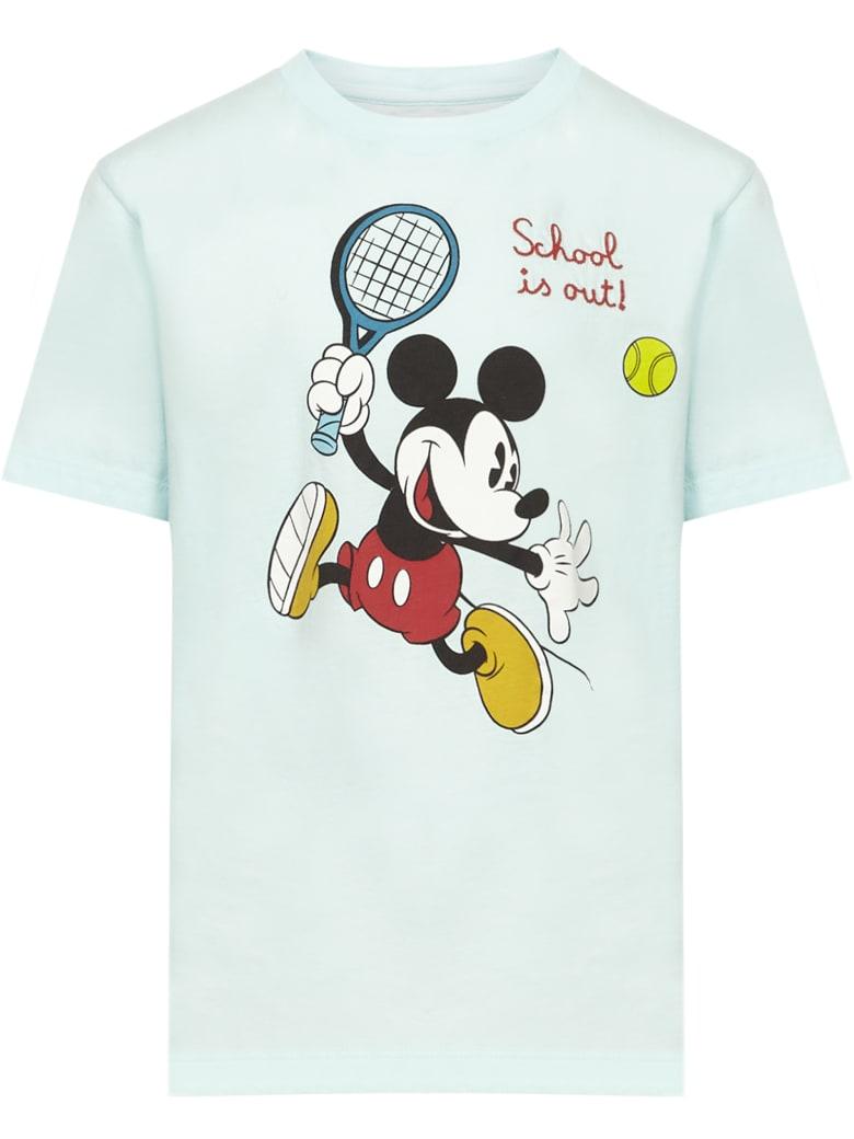MC2 Saint Barth Mickey Tennis T-shirt - Light green