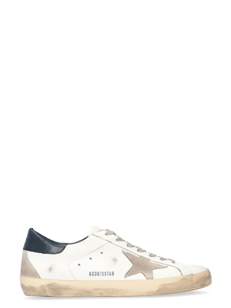 Golden Goose Superstar Leather Sneakers - Bianca
