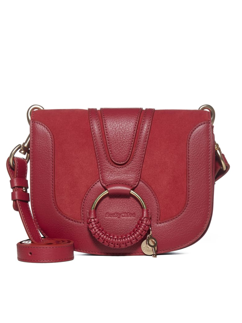 See by Chloé Shoulder Bag - Dusty red