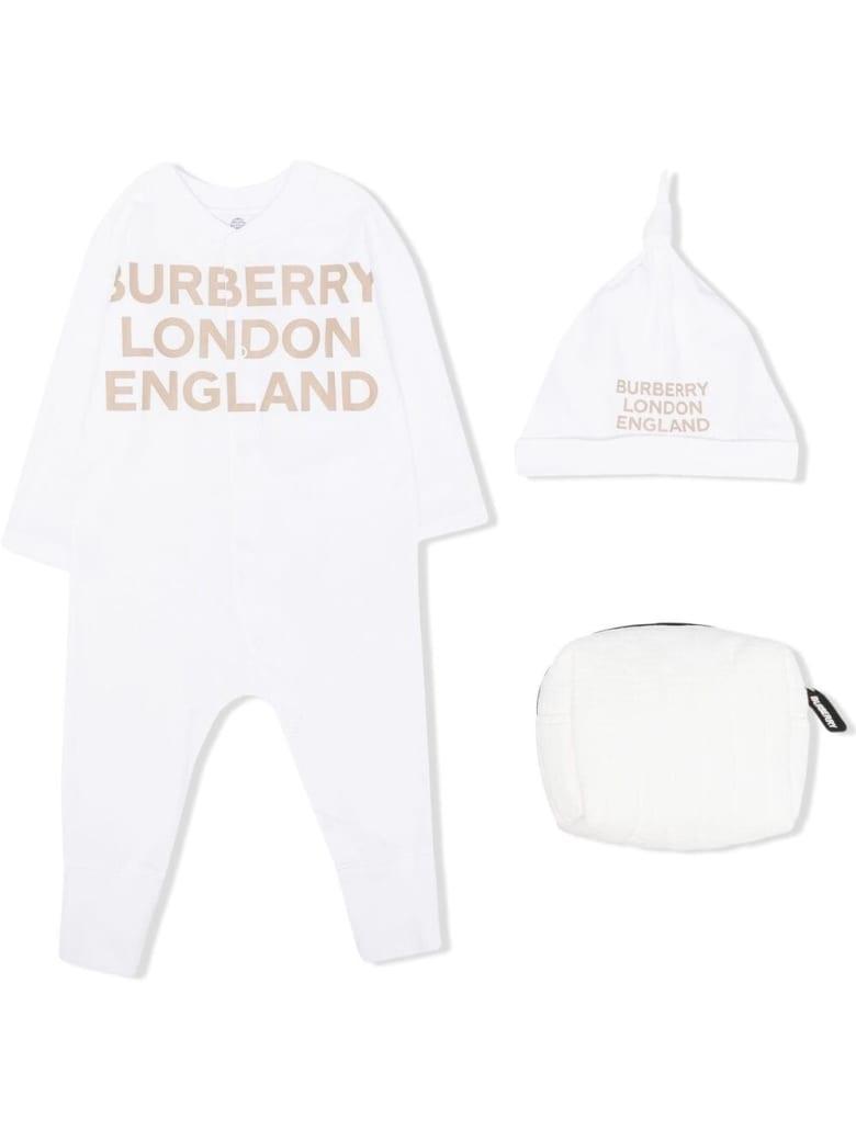 Burberry Cleo White Cotton Set With Logo - White
