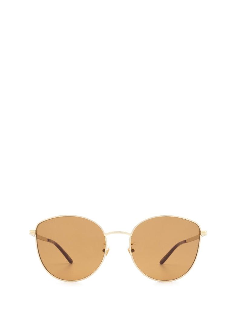 Gucci Gucci Gg0807sa Gold Sunglasses - Gold