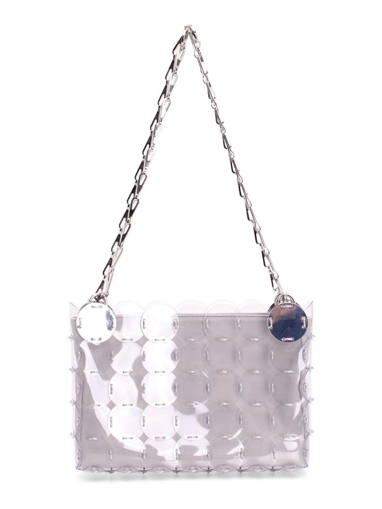 Paco Rabanne Pvc Shoulder Bag - Silver