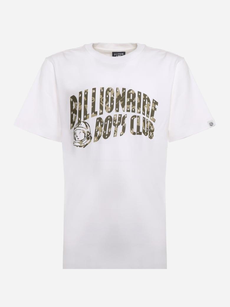 Billionaire Boys Club Cotton T-shirt With Logo Print - White