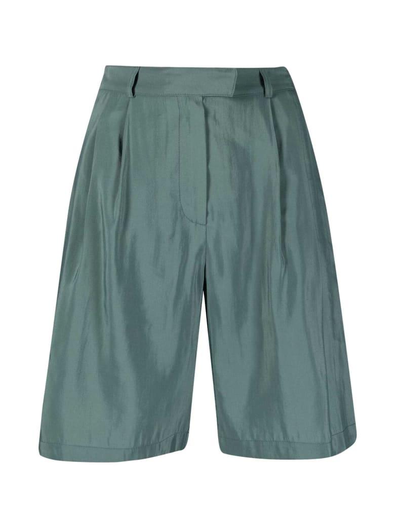 Alysi Knee-length Shorts - Verde