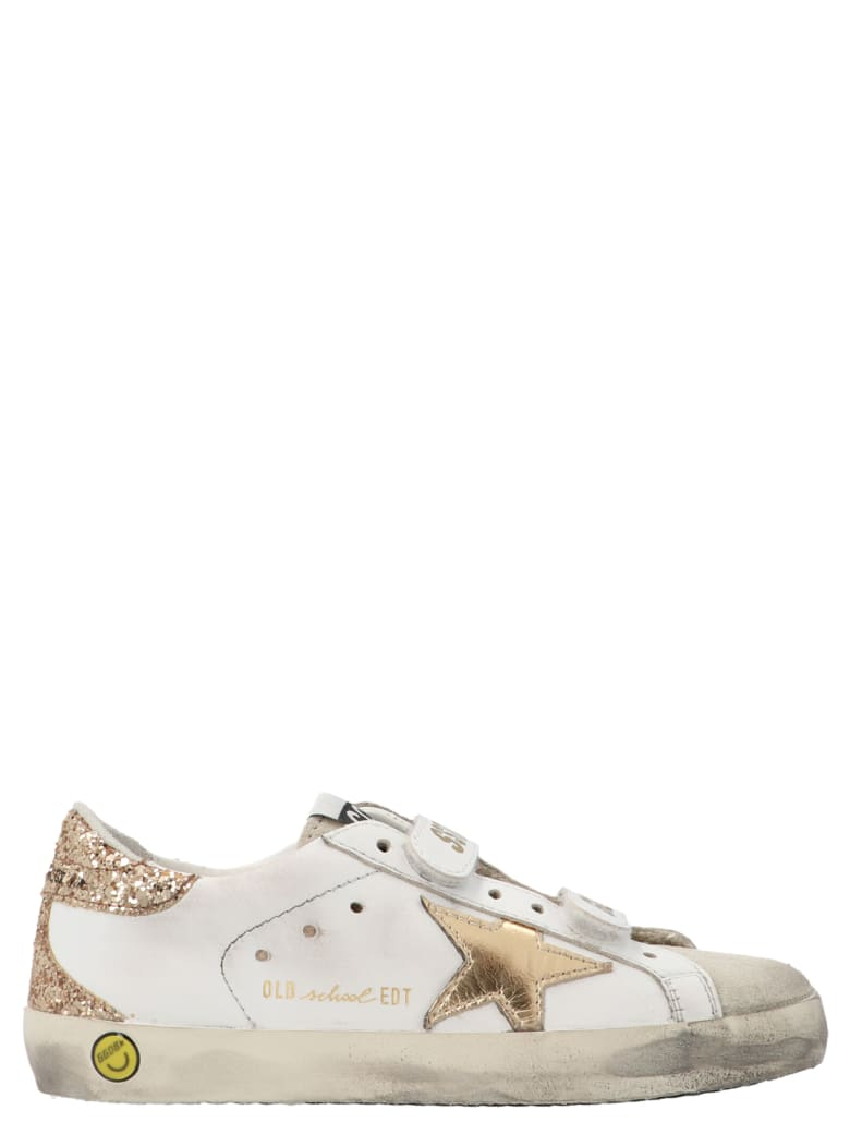 Golden Goose 'old School' Shoes - Gold