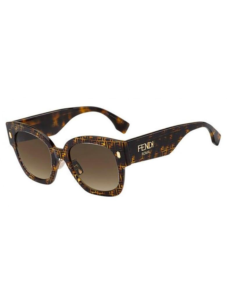 Fendi FF 0458/G/S Sunglasses - Vm/ha Hvna Pattern