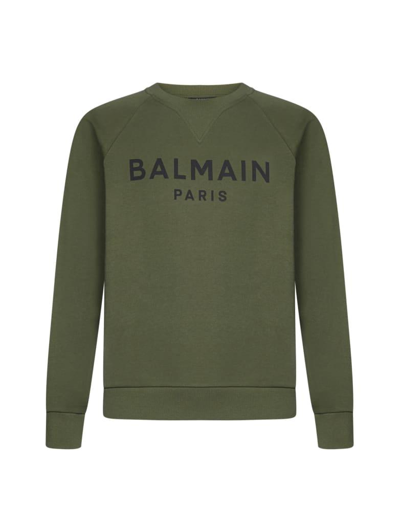 Balmain Fleece - Kaki fonce noir