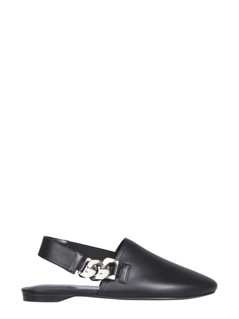 Givenchy G Chain Sabots - Nero