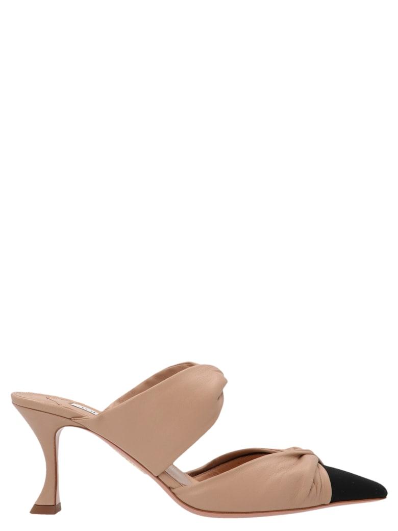 Aquazzura 'twist'shoes - Beige