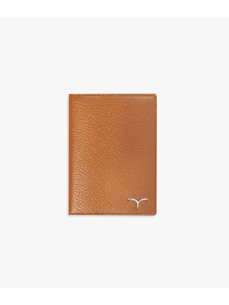 "Larusmiani Passport Cover ""concorde"" - light brown"