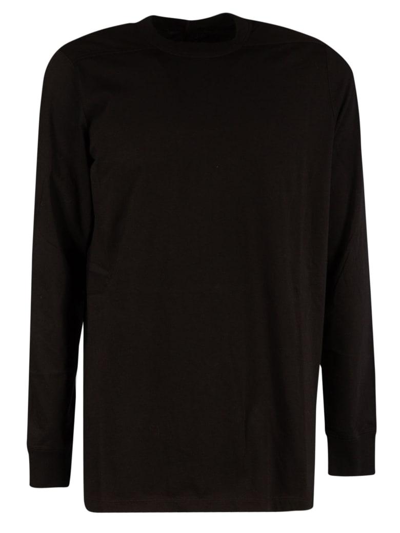 Rick Owens Longsleeved Level T-shirt - Black