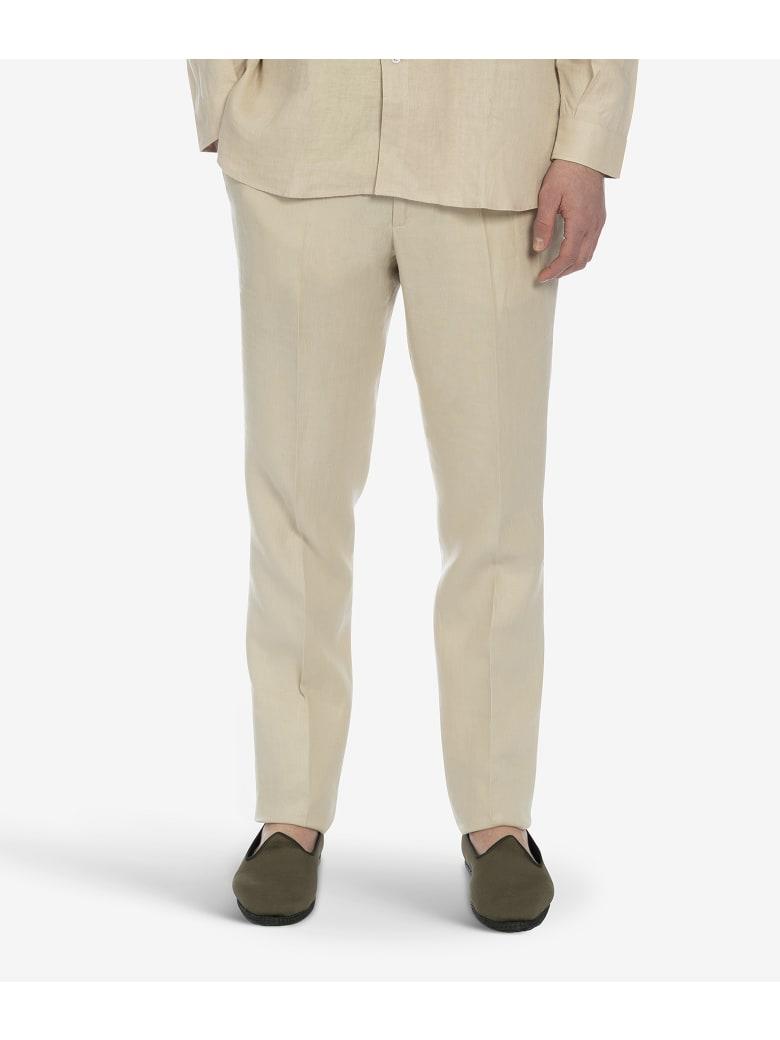 "Larusmiani ""portofino"" Trousers - Beige"