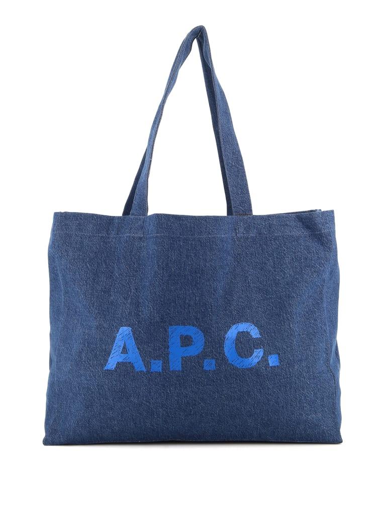 A.P.C. Shopping Diane - Ial Washed Indigo