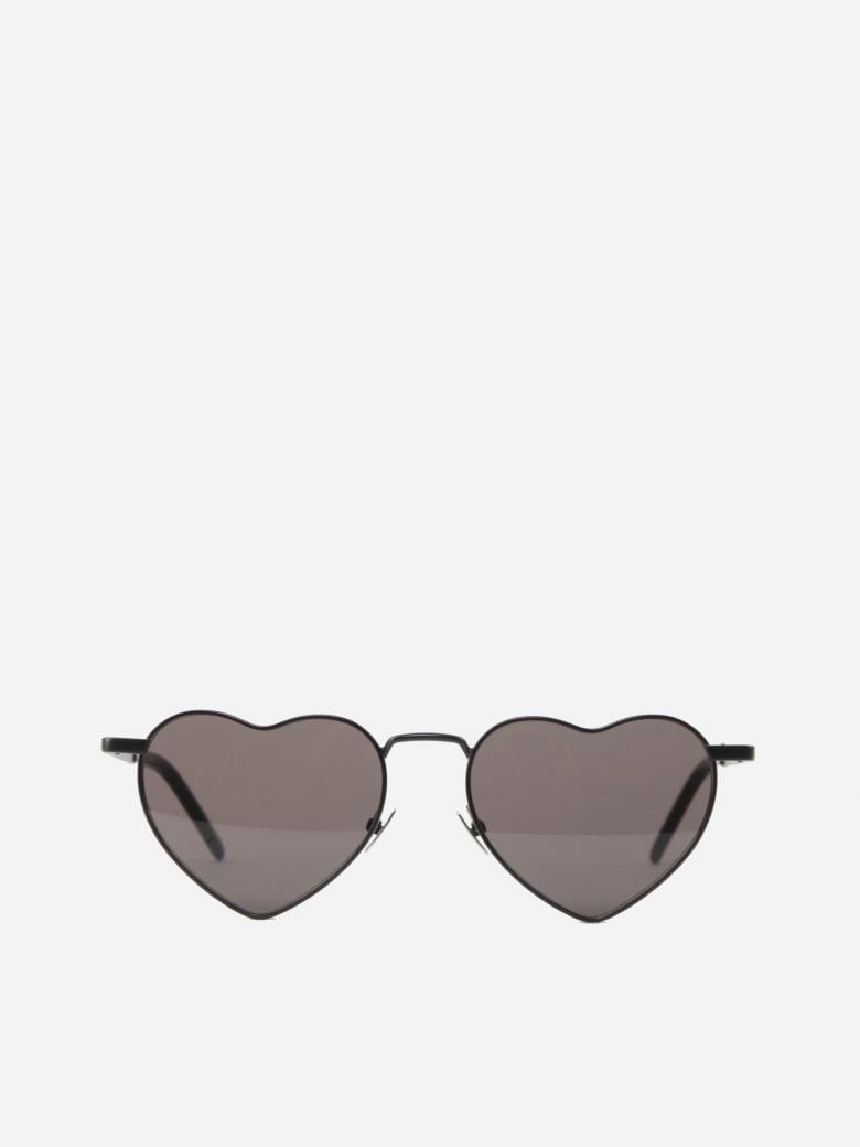 Saint Laurent Loulou Sl 301 Metal Sunglasses - Black