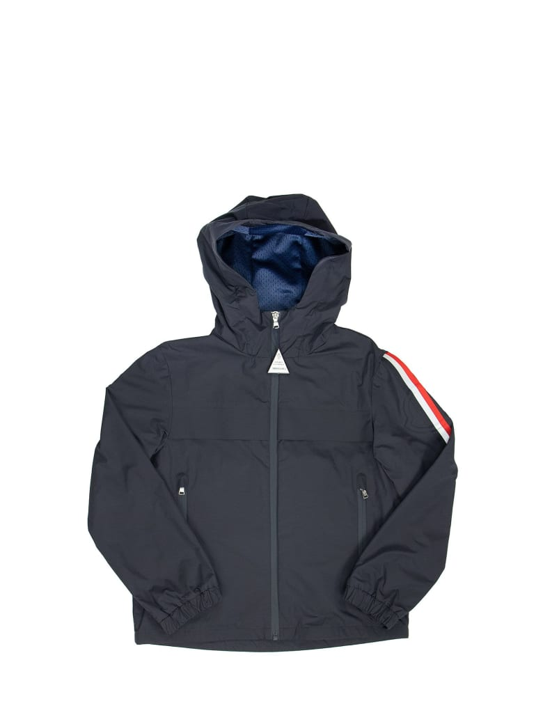 Moncler Vaug - Hooded Jacket - Blu