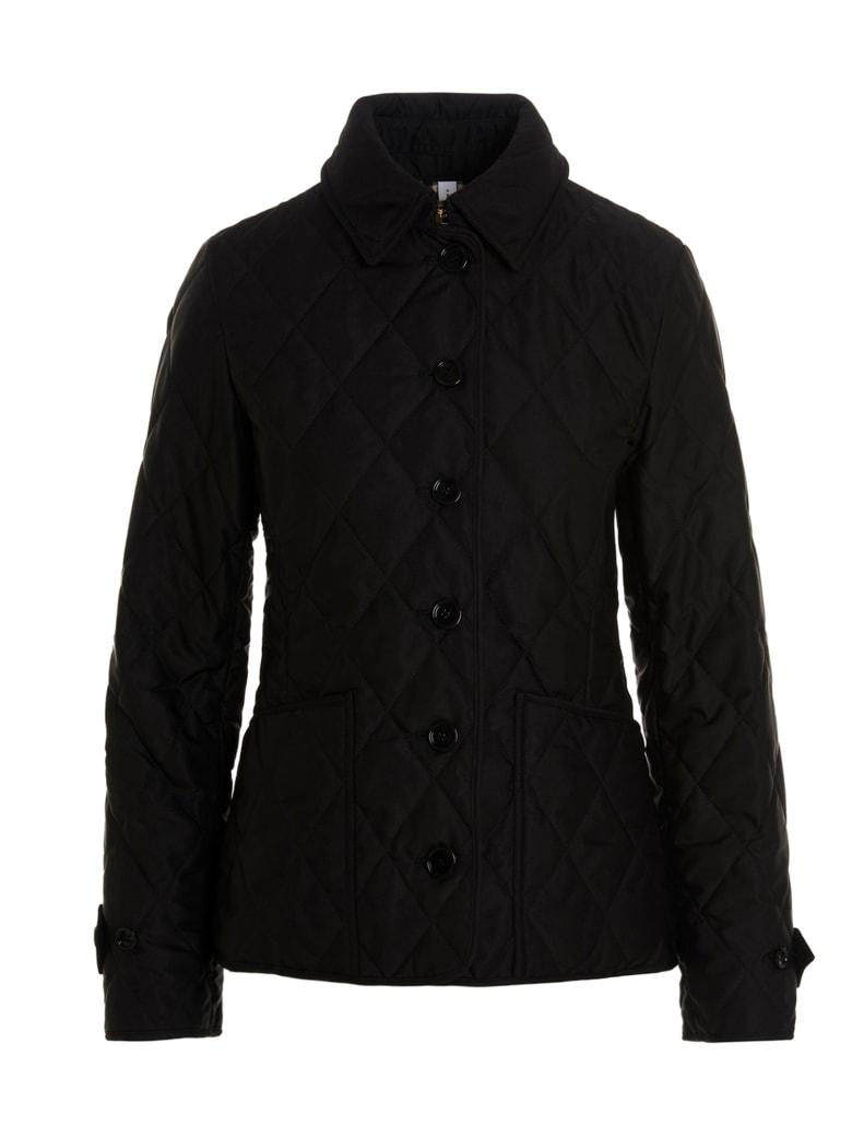 Burberry 'ferneleigh' Jacket - Black