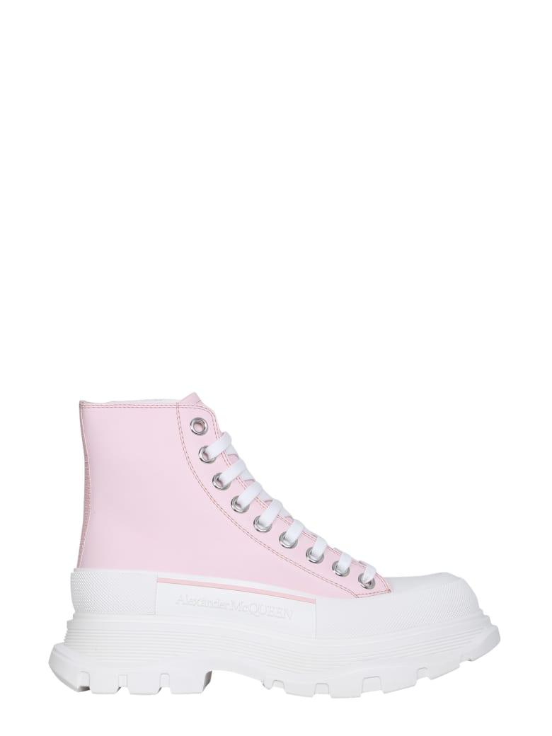 Alexander McQueen Boot Sneakers - Rosa