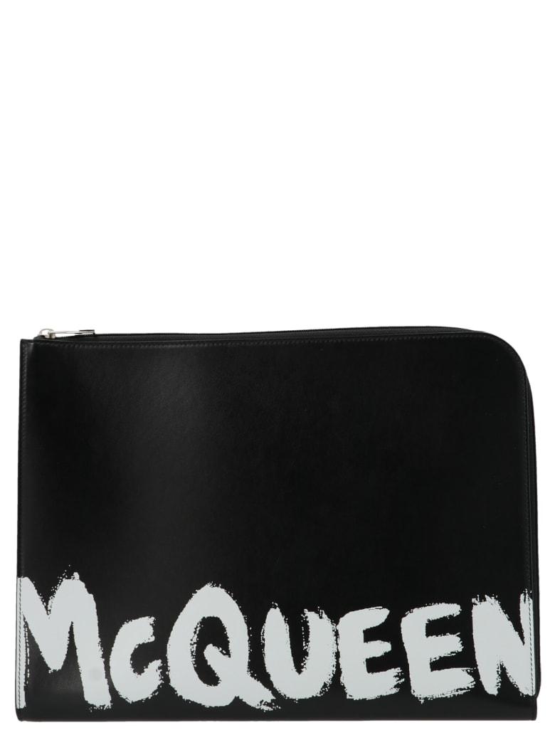 Alexander McQueen 'graffiti' Bag - Black
