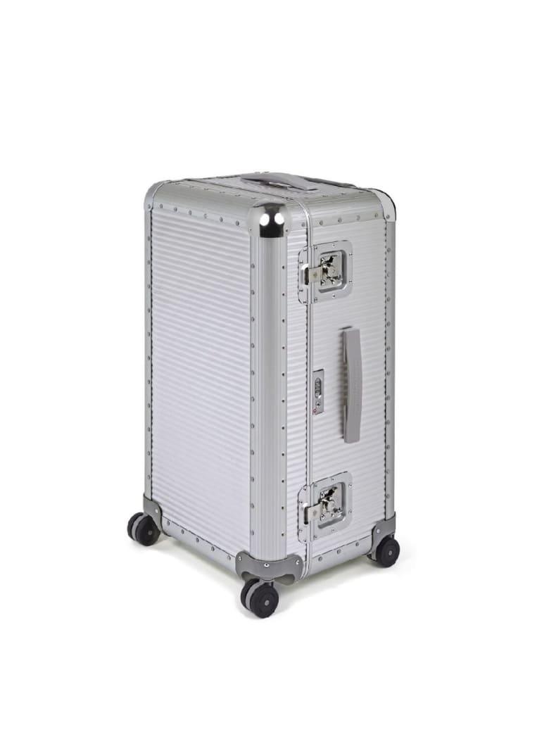 FPM Aluminum Bank S-trunk On Wheels - Moonlight Silver