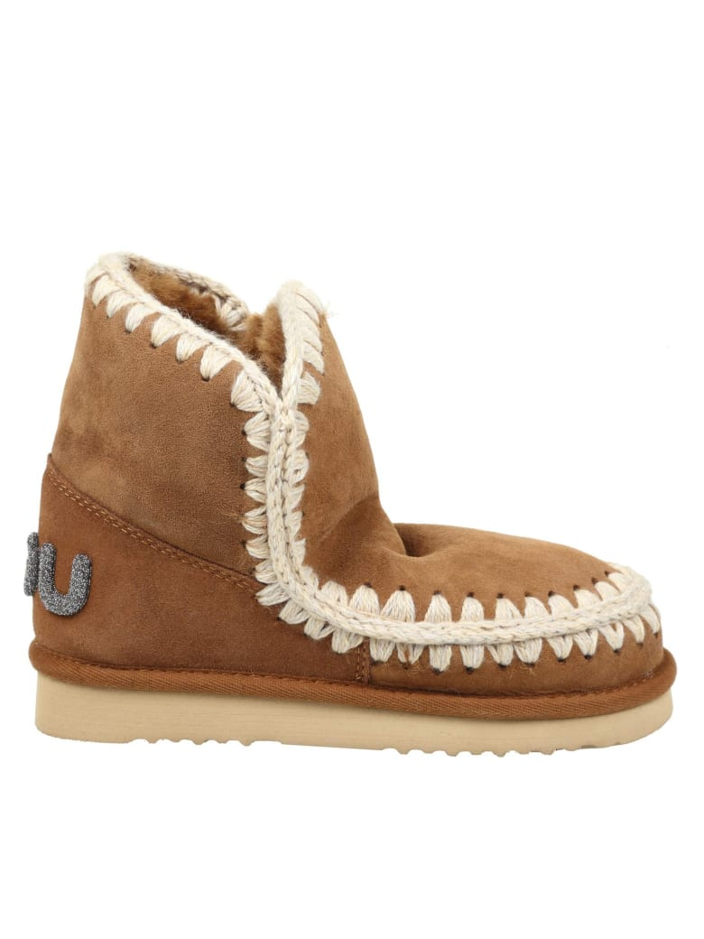 Mou Sneakers Eskimo 18 In Leather Suede