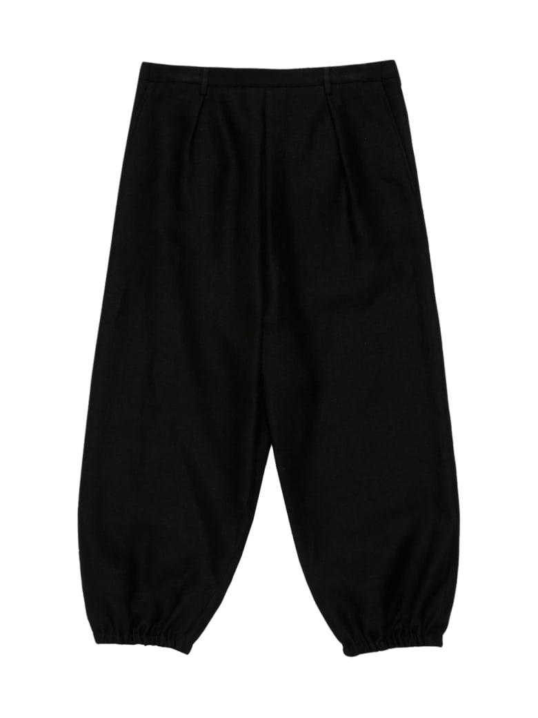 Saint Laurent Hakama Long Trousers - Noir