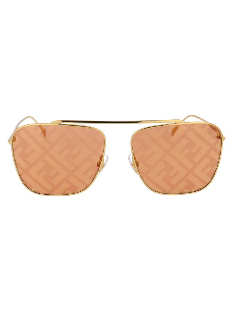 Fendi Ff 0406/s Sunglasses - J5G0M GOLD