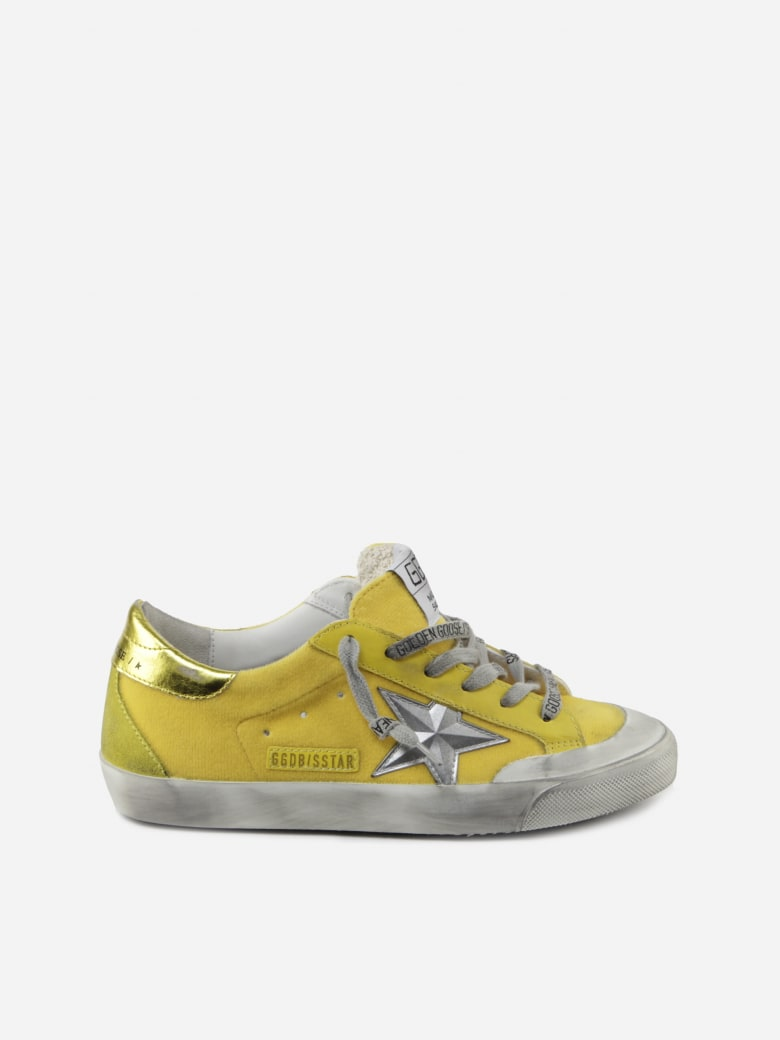 Golden Goose Superstar Yellow Sneaker - Yellow/multicolor/silver