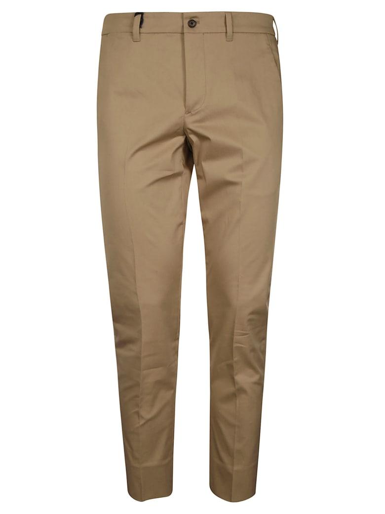 Prada Regular Fit Plain Cropped Trousers - Corda