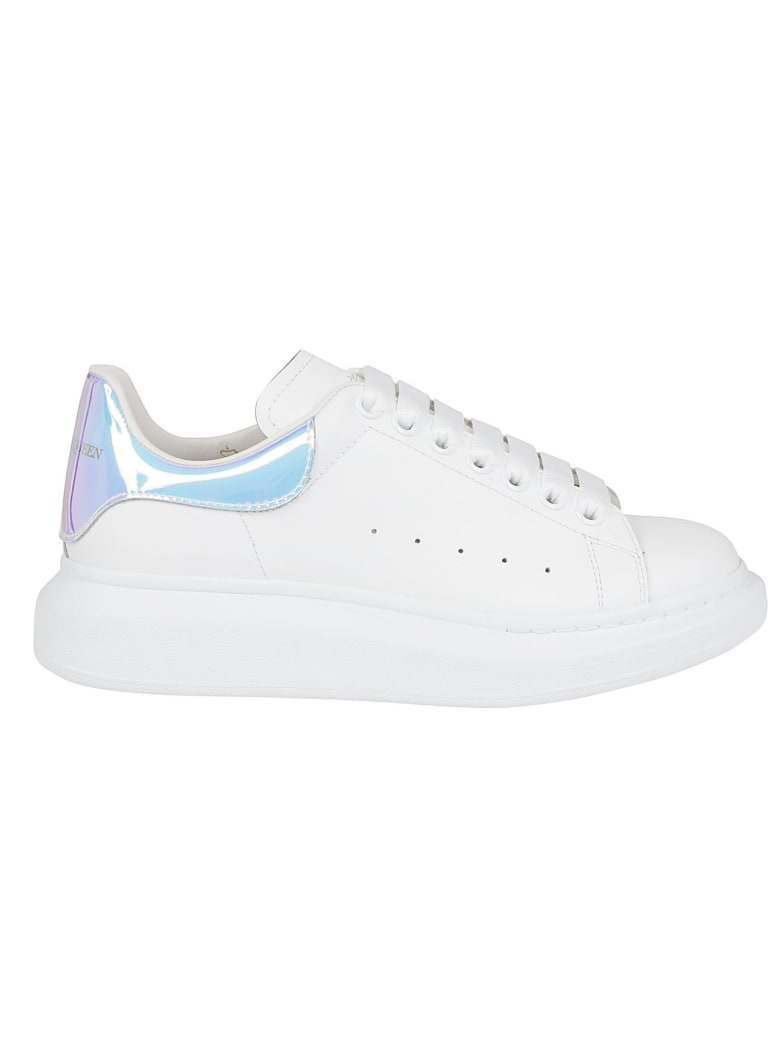 Alexander McQueen Leather Upper And Rubber - White Shock Pink